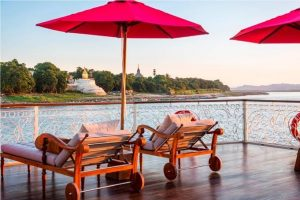 Travelling in luxury aboard the Irrawaddy Explorer