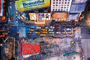 3. Times Square W Hotel Look Down