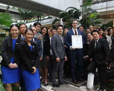 Anantara Siam_Green Growth Award_Management team
