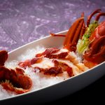 Blue lobster promotion at Shang Palace