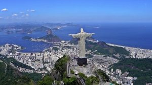 Christ the Redeemer statue overlooks Rio de Janiero
