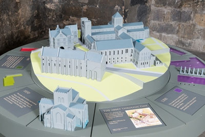 Dunfermline Abbey and Palace Model - 3