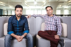 HashChing founders (L to R) Atul Narang and Mandeep Sodhi