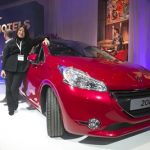 Ina Choy & her new Peugeot 208