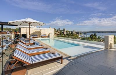 Rooftop Pool and Lounge - InterContinental Sydney Double Bay