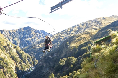 Take a flying leap into the Shotover Canyon at Shotover Canyon Fox