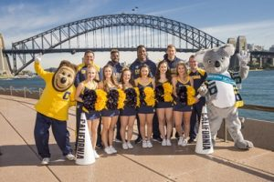 University of California Golden Bears cheerleaders, Oski and Sydney mascot_Destination NSW