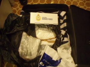 Drugs found on cruise ship