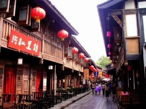 Jinli historical district of Chengdu