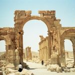 3. Syria - Monumental Arch, Palmyra. Credit - Stephen Rowland, Oxford Archaeology North