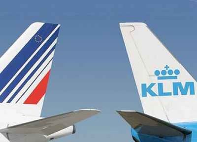 Air France KLM tails