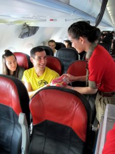 amazing-gifts-from-crew-on-bangkok-chiangmai-maiden-flight