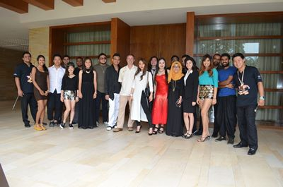 Finalists, judges and management team of FIP's Got Talent