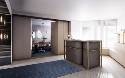 Four Seasons Hotel Sydney - rendering of new Executive Club