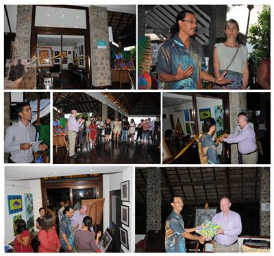 Launching of art gallery at fisherman cove hotel