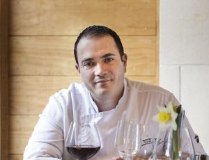 Left Bank Café and Bistro head chef Stéphane Postoyan