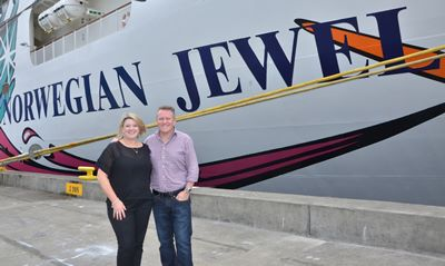 nicole-costantin-steve-odell-site-check-norwegian-jewel