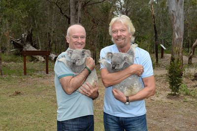 Richard and Brett  Koala