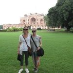 Scenic India agent famil - Humayan's Tomb (1)