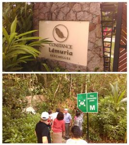 Visit Lemuria to discuss access to Anse Georgette