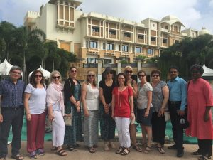 Viveck, Jacy Richards, Jacqui Cameron, Rebecca Lipscombe, Trish Hollis, Laura Dobson, Kerryn Murphy (head office), Liz Van-Boxel, Trish O'Brien, Christine Jenkins IN Udaipur