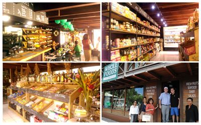 Whole Food Fresh Market and cafe on Praslin