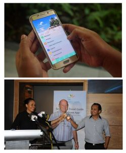 launch of Seychelles Travel Guide Smartphone app