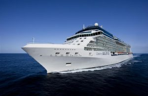 Aerial Celebrity Solstice in the Virgin IslandsCelebrity Solstice - Celebrity Cruises