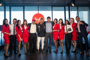 airasia-team-line-up-at-event-last-night