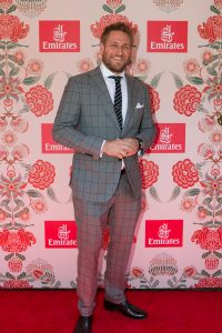 Curtis Stone at Emirates Marquee, Derby Day 2016