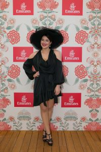 Francesca Packer at the Emirates Marquee, Derby Day 2016