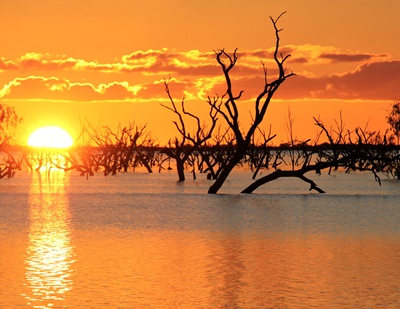 menindee-lakes-sunset