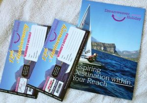 Tickets and brochure