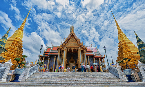 The Temple of the Emerald Buddha or Wat Phra Kaeo is on the same compound as the Grand Palace (Photo credit: A TAT Newsroom Contest 2014 entry by Narin Sapaisarn)