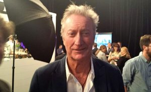 Bryan Brown at Air New Zealand function yesterday