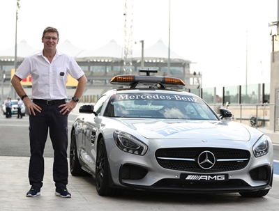 fia-safety-car-driver-bernd-maylander-in-yas-marina-circuit-pit-lane-2016