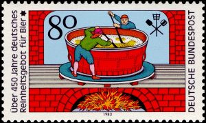 german-stamp-released-in-1983-to-celebrate-the-history-of-the-reinheitsgebot