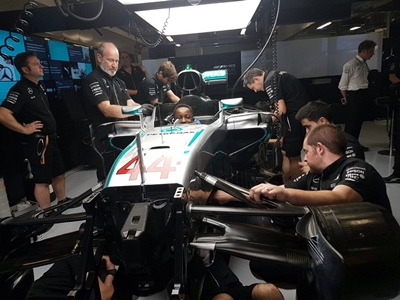 nathan-even-got-to-sit-in-lewis-hamiltions-car-at-the-mercedes-amg-petronas-pit-garage