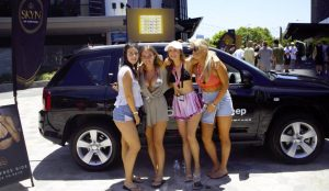schoolies-jeep-winner-katie-faix-2nd-from-left-with-friends-danica-lappin-shae-lozoratis-and-chloe-danastas
