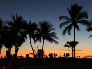 Spectacular sunset at Cable Beach, Broome
