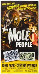 Could it be the Mole People, trying to make contact?