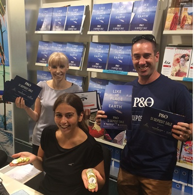 P&O Cruises Sales Blitz - Escape Travel Golden Grove