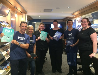 P&O Cruises Sales Blitz - NSW